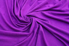 Purple jersey fabric. Nice purple jersey fabric textured close up Stock Images