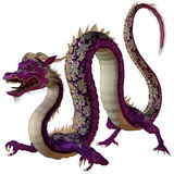 Purple Jewel Dragon Stock Image