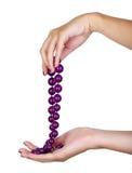 purple jewelry Stock Photos