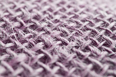 Purple jute fiber Stock Photography