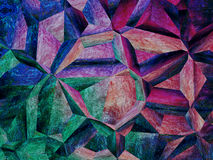 Purple kaleidoscope abstract background. Stock Photo