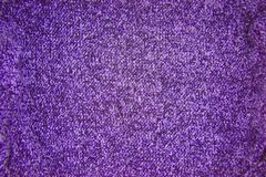 Purple knitted texture pattern background royalty free stock image