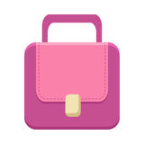 Purple Ladies Handbag Royalty Free Stock Photography