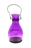 Purple lantern Stock Photography