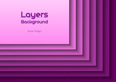 Purple Layeres Stock Photos