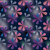 Purple leaf of chestnut Stock Photography