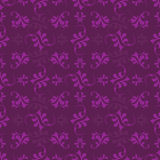 Purple leaf pattern Royalty Free Stock Image