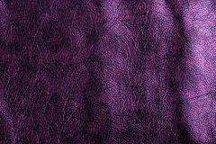 Purple leather, a background Royalty Free Stock Image