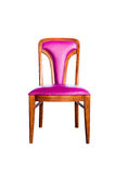 Purple leather chair Royalty Free Stock Photos
