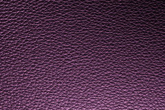 Purple leather texture background for design. Royalty Free Stock Photography