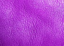 Purple leather texture. As background Stock Photography
