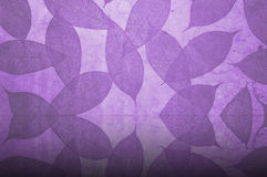 Purple Leaves Pattern wallpaper Stock Images