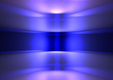 Purple Light bend Stock Photography
