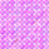 Purple light flower triangle seamless pattern Stock Photography