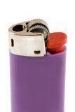 Purple Lighter Royalty Free Stock Images