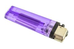 Purple lighter Stock Photos