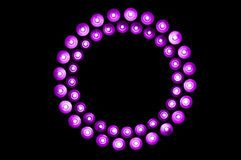 Purple lights Royalty Free Stock Photography