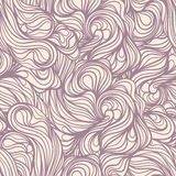 Purple line swirls Royalty Free Stock Photo