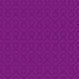 Purple Linear Weaved Seamless Pattern. Royalty Free Stock Photo