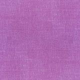 Purple linen napkin Stock Image