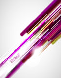 Purple lines Stock Photography