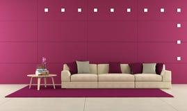 Purple lounge Stock Photo