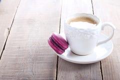 Purple macaron Royalty Free Stock Images