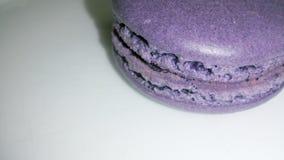 Purple macaron Stock Photo
