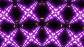 Purple mandala kaleidoscope with pattern stock illustration