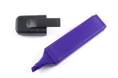 Purple marker Royalty Free Stock Photo