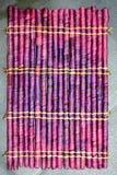 Purple mat Royalty Free Stock Photography