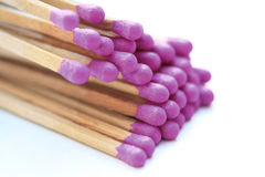 Purple matches Royalty Free Stock Images