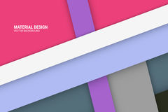 Purple Material Design Background Royalty Free Stock Image