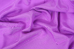 Purple mauve fabric Stock Photos