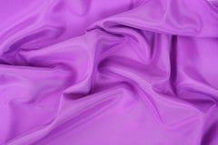 Purple mauve fabric Stock Photos