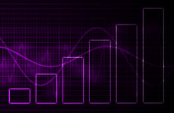 Purple Medical Science Technology Background. A Purple Medical Science Technology as Art Background