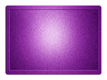 Purple Metallic Plate Royalty Free Stock Image