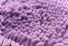 Purple microfiber Stock Photo
