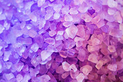 Purple mineral Royalty Free Stock Images
