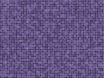 Purple Mosaïc Tiles Stock Photo