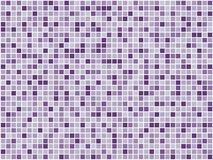 Purple mosaic Royalty Free Stock Photo