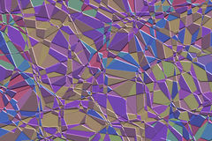 Purple mosaic Royalty Free Stock Image