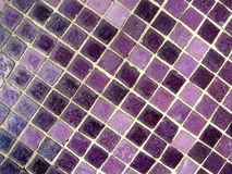 Purple Mosaic Stock Photography