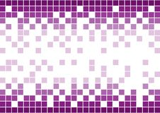 Purple mosaic background Royalty Free Stock Photo