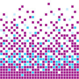 Purple Mosaic Background. Vector illustration of purple mosaic background royalty free illustration