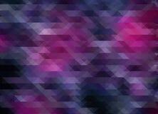 Purple mosaic polygonal pixel background, creative design template Royalty Free Stock Photo