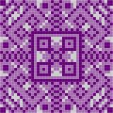 Purple mosaic tile Stock Image