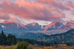 Purple Mountain Sunrise Royalty Free Stock Photo