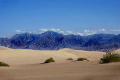 Beautiful mountain peaks in desert Royalty Free Stock Images