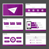 Purple Multipurpose Infographic elements and icon presentation template flat design set advertising marketing brochure flye. Purple Infographic elements and icon vector illustration